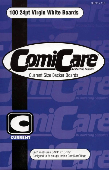 Comic Care 100 Current Comic Backing Boards