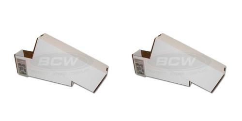 2 BCW Super Vault Storage Boxes