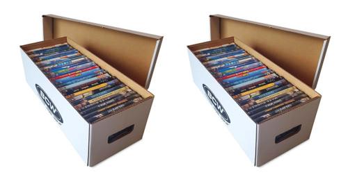 2 BCW Media Storage Boxes