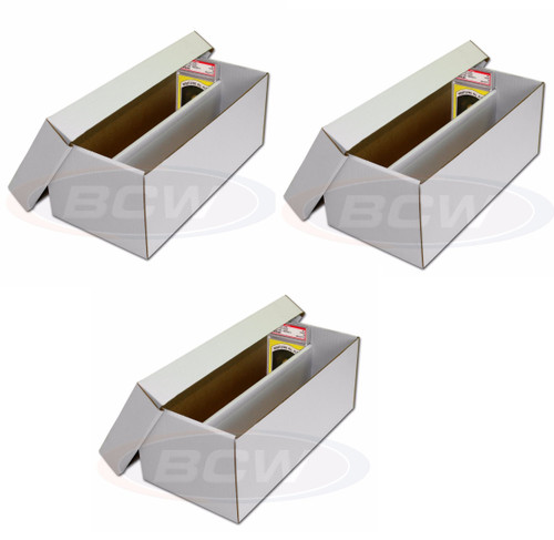 3 BCW Graded Shoe Boxes