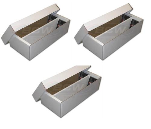 3X BCW Shoe Storage Box (1,600 CT.)