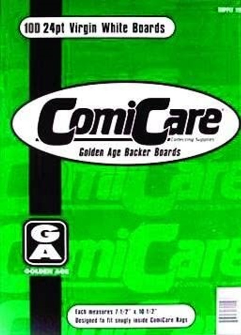 Comic Care Golden Size Comic Back Boards - 100 Pack