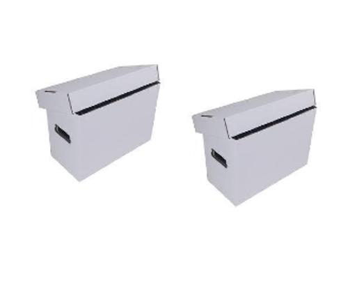 Two ComiCare Short Comic Book Storage Box
