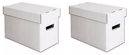 2 BCW Comic Care Magazine - Golden Age Comic Book Storage Boxes