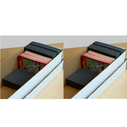 2 Monster Pads for Storage Boxes