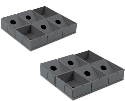 2 BCW Modular Sorting Tray