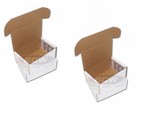 2 BCW Graded Trading Card Storage Box