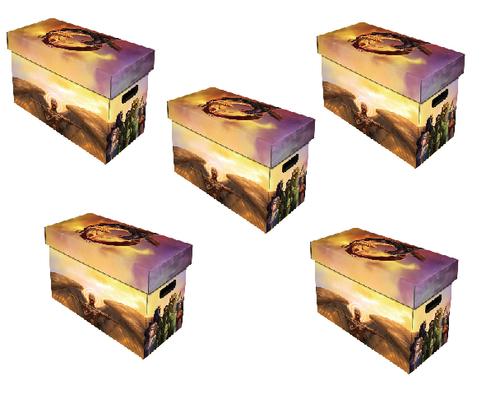 5 BCW Magazine Boxes Good v. Evil