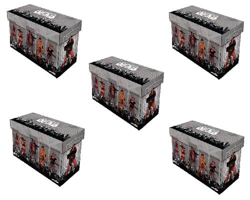 5 BCW Short Comic Boxes TWD - Factions