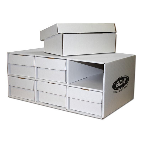 BCW Shoe House With 6 Shoe Boxes