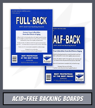 Shop Acid-Free Backing Boards