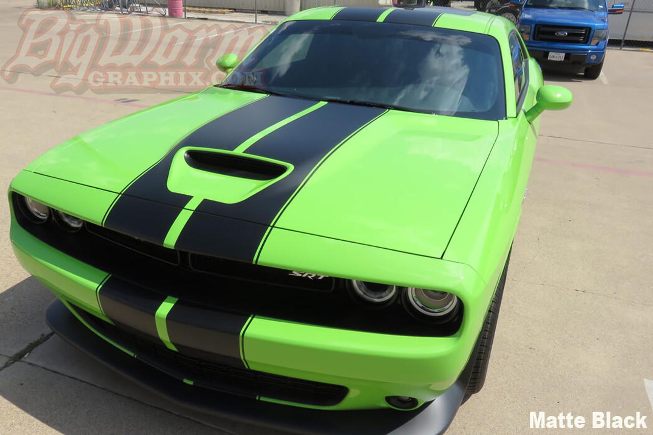 2015 18 Challenger Srt Style Dual Full Length Stripes