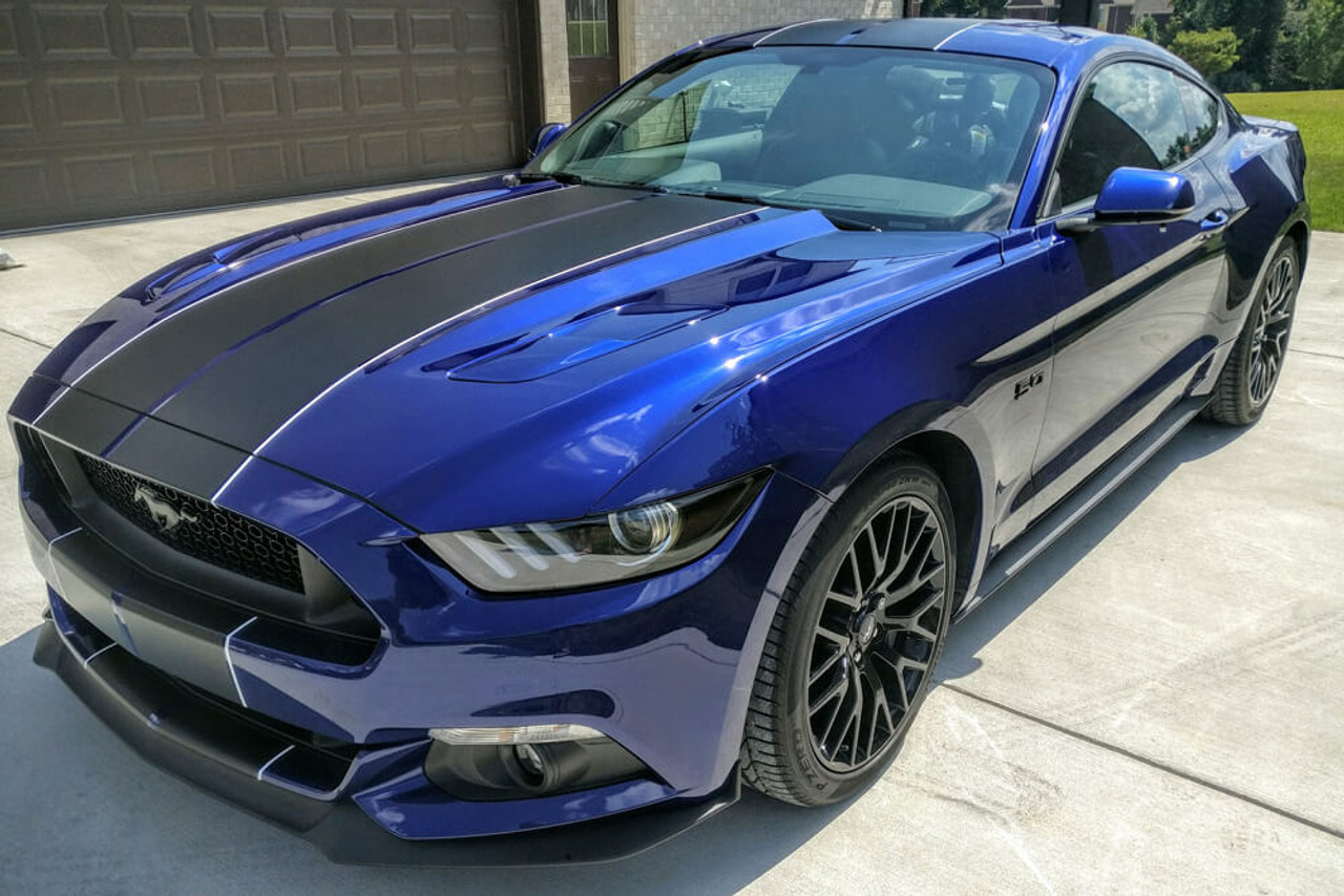 mustang stripes dual wide length