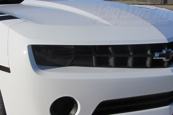 2010-13 Camaro Smoked Headlight Overlays