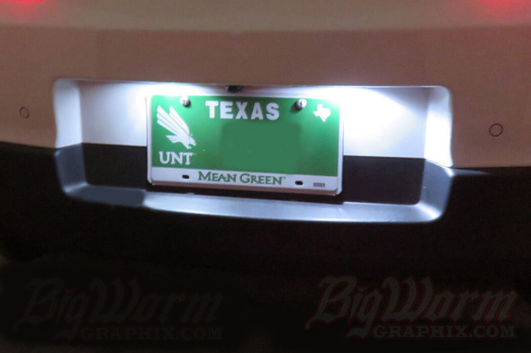 2010-15 Camaro LED License Plate Lights