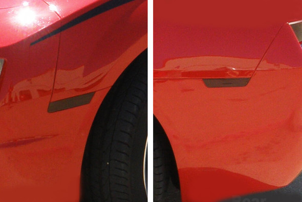 2010-15 Camaro Smoked Side Marker Overlays