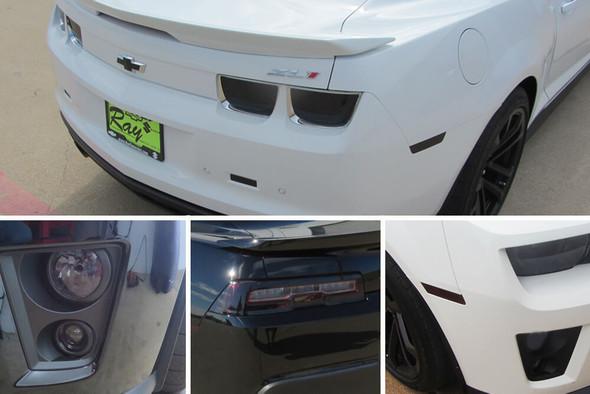 2012-15 Camaro ZL-1 Smoked Lens Combination Kit