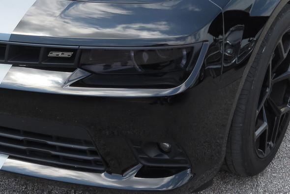 2014-15 Camaro Smoked Headlight Overlays