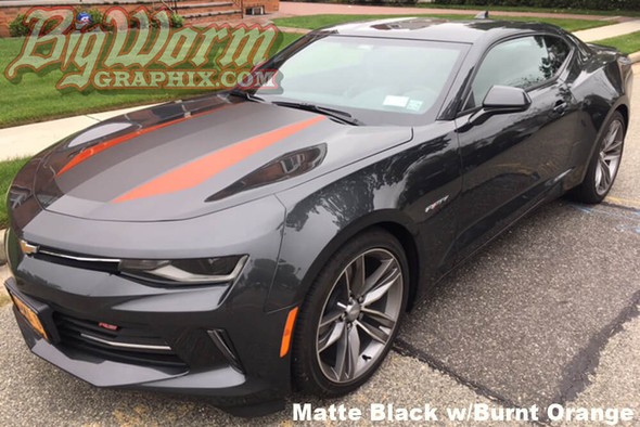 2016-18 Camaro 50th Style Stripes