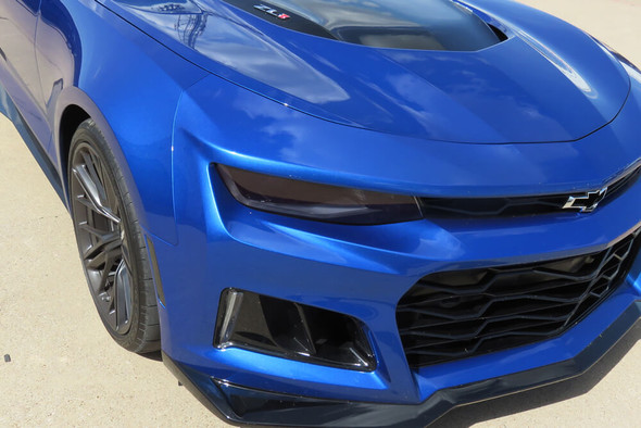 2016-18 Camaro Smoked Headlight Overlays