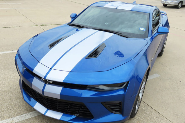 2016-18 Camaro Narrow Dual Full Length Stripes
