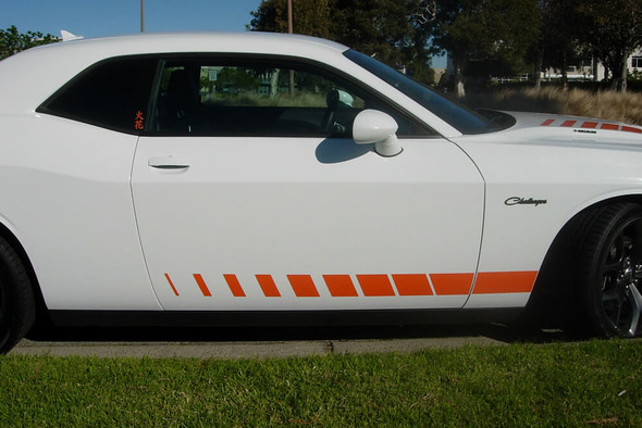 2008-20 Challenger Fender/Door Rocker Stripes