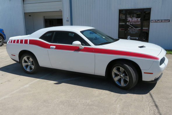2008-21 Challenger Full Length Retro Side Stripes
