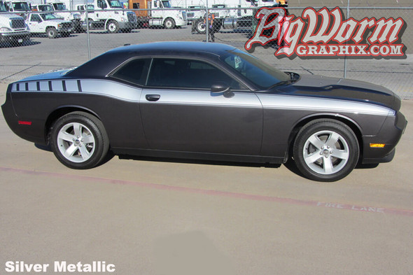 2008-20 Challenger Full Length Retro Side Stripes