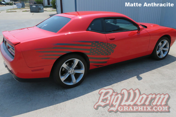 2008-20 Challenger Stars & Stripes Side Stripe