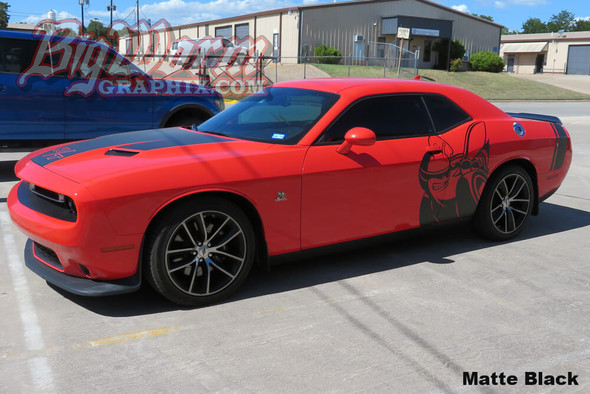 2008-20 Challenger Super Bee Side Graphic