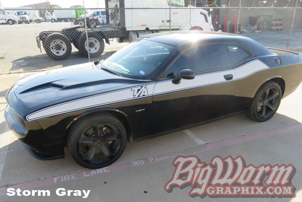 2008-20 Challenger TA Style Side Stripes