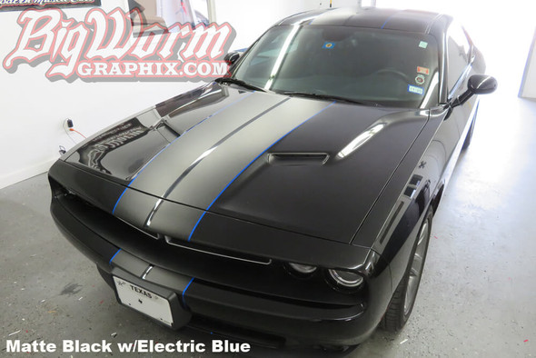 2015-18 Challenger Dual Full Length Stripes