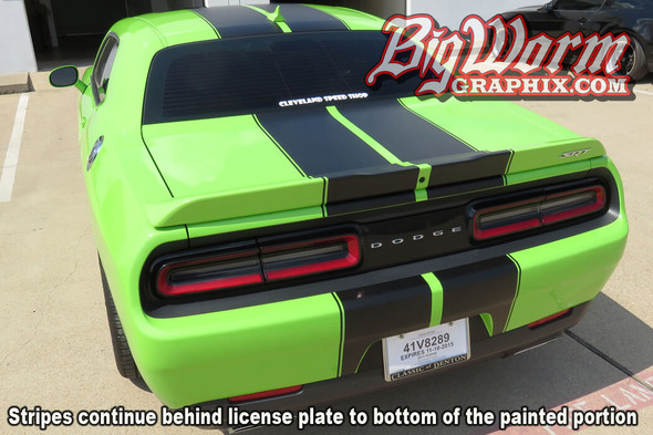 2015-18 Challenger SRT Style Dual Full Length Stripes