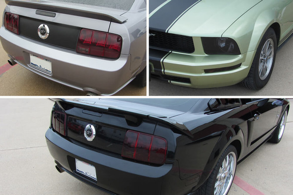 2005-09 Mustang Smoked Lens Combination Kit