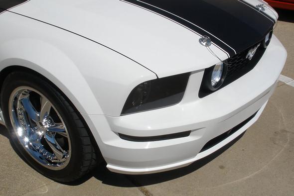 2005-09 Mustang Smoked Headlight Overlays