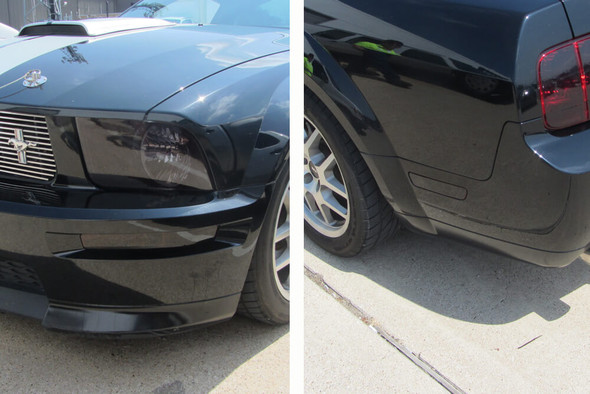 2005-09 Mustang Smoked Side Marker Overlays