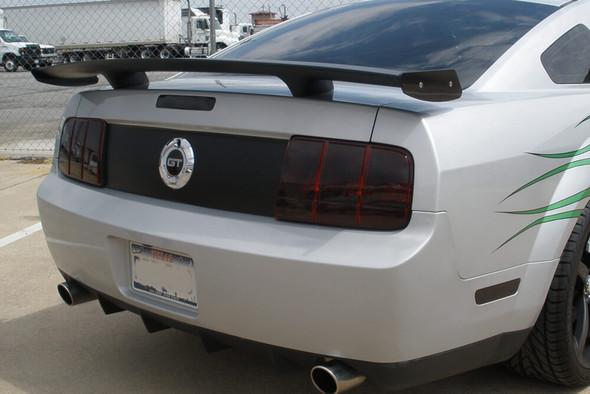 2005-09 Mustang Smoked Tail Light Overlays