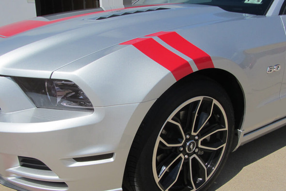 2005-14 Mustang Hash Mark Stripes