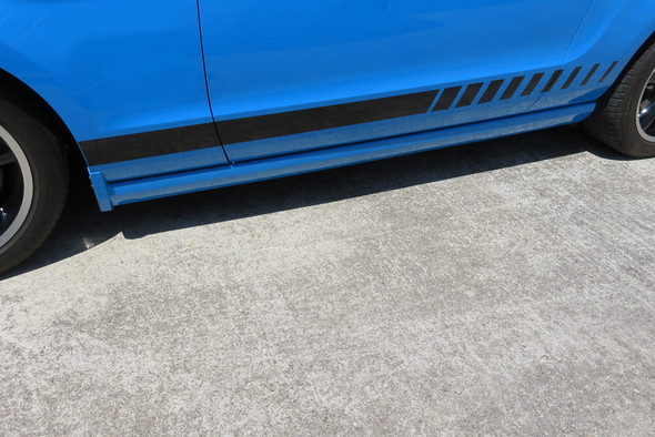 2005-14 Mustang Strobe Rocker Stripes