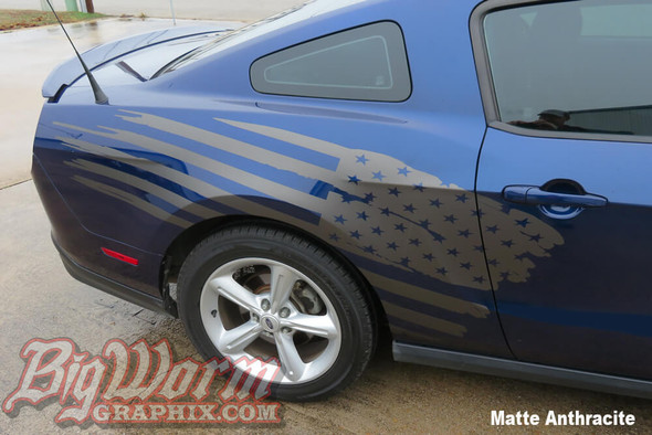 2005-20 Mustang Stars & Stripes Side Stripe