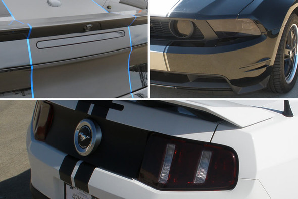 2010-12 Mustang Smoked Lens Combination Kit