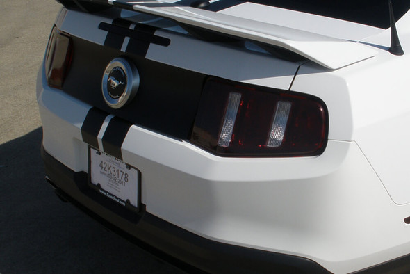 2010-12 Mustang Smoked Tail Light Overlays