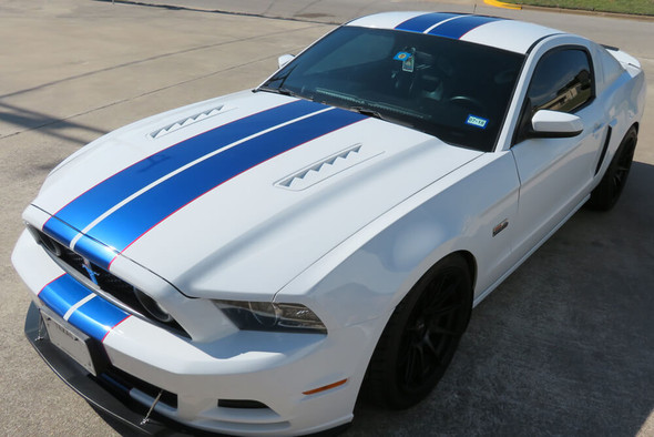 2010-14 Mustang Narrow Dual Full Length Stripes