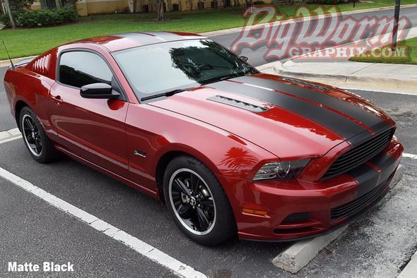 2010-14 Mustang Pinstripe Dual Stripes