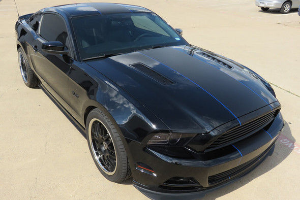 2010-14 Mustang Center Full Length Stripe