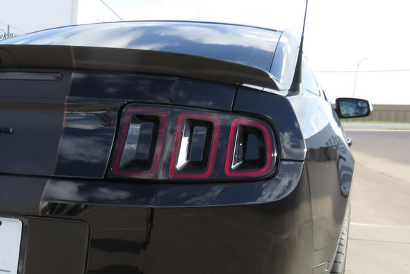 2013-14 Mustang Smoked Tail Lights Inserts