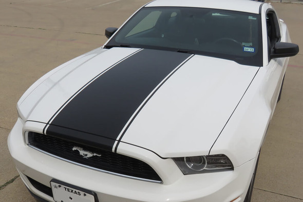 2013-14 Mustang Center Hood Stripe