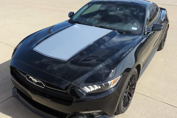 2015-17 Mustang Cowl Hood Stripe