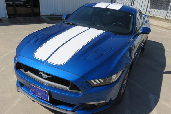 2015-17 Mustang Dual Mohawk Stripe