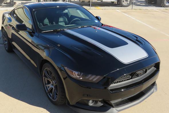 2015-17 Mustang Horseshoe Hood Stripe
